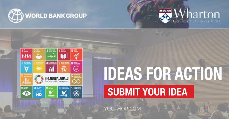 [USA] Tham Gia Cuộc Thi Ideas for Action 2017 Competition Giành Cơ Hội Đến USA
