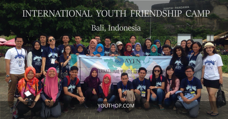 [Indonesia] Cơ Hội Tham Dự International Youth Friendship Camp 2017