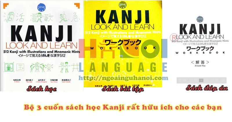 Học Hán Tự qua Kanji Look and Learn - Top 7 phương pháp học tiếng Nhật hiệu quả nhất bạn nên biết