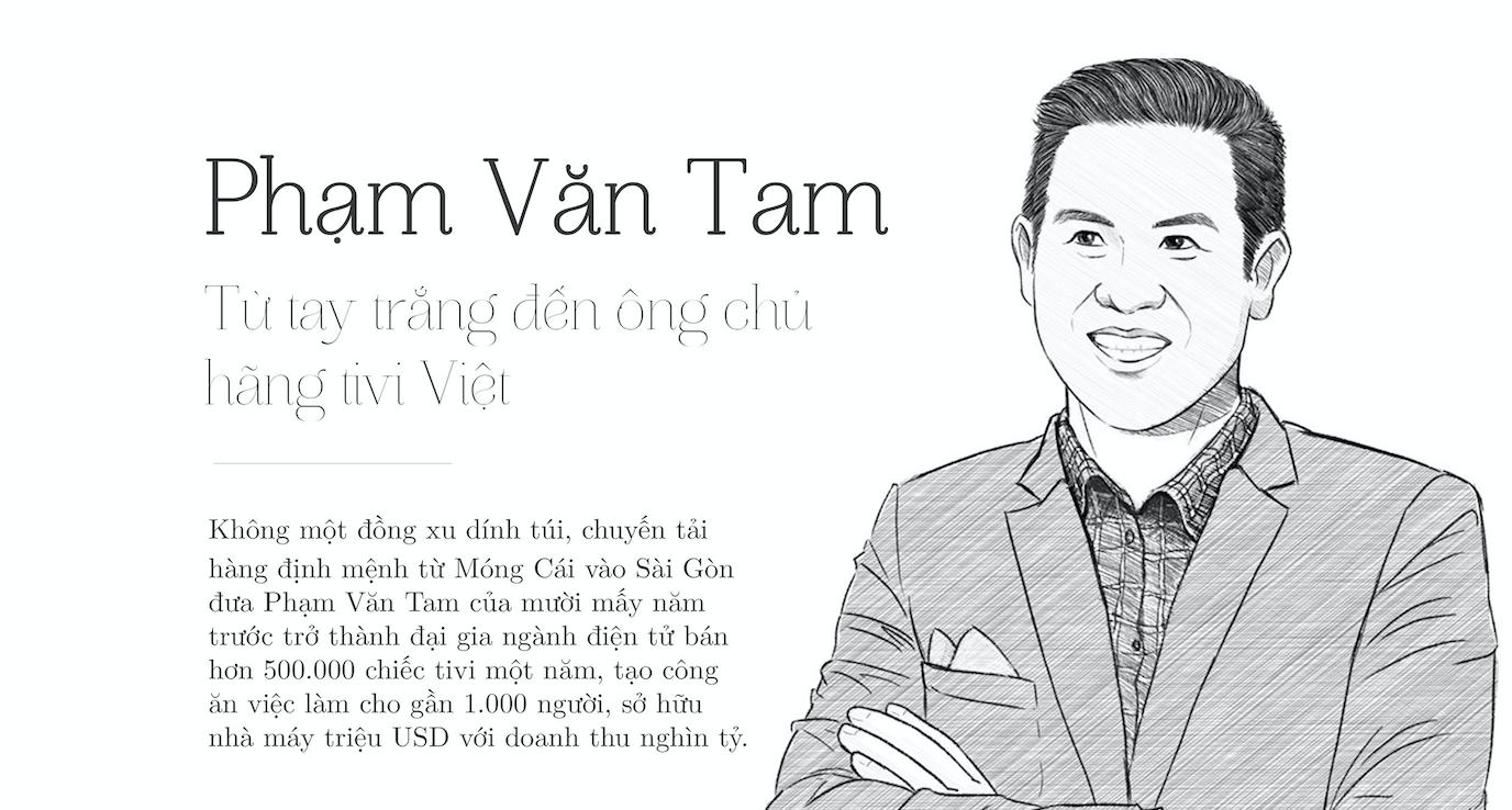 Phạm Văn Tam: Từ Tay Trắng Đến Ông Chủ Hãng Tivi Việt