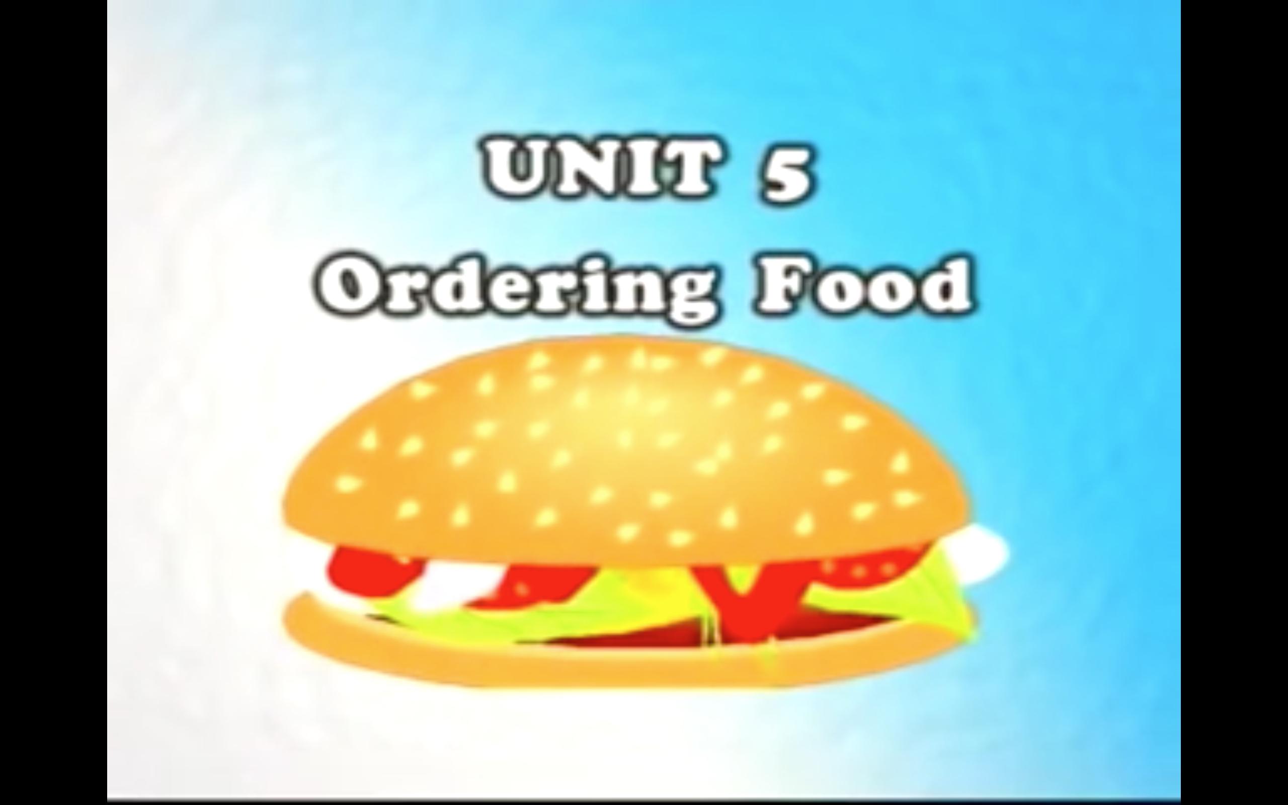 [Giao tiếp cơ bản] Bài 5: Gọi Món - Unit 5: Ordering Food