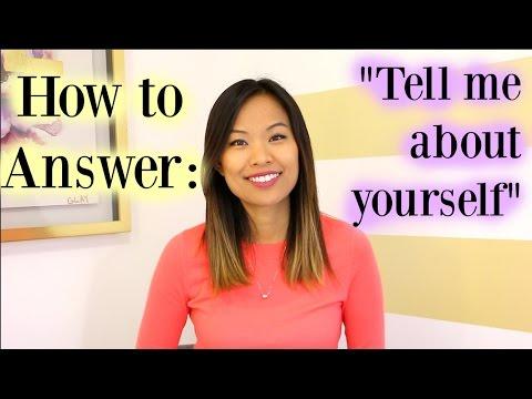 [Linda Raynier] Hãy Giới Thiệu Bản Thân | Cách Để Trả Lời Tốt Câu Hỏi Tuyển Dụng Này - Tell Me About Yourself | A Good Answer to This Interview Question