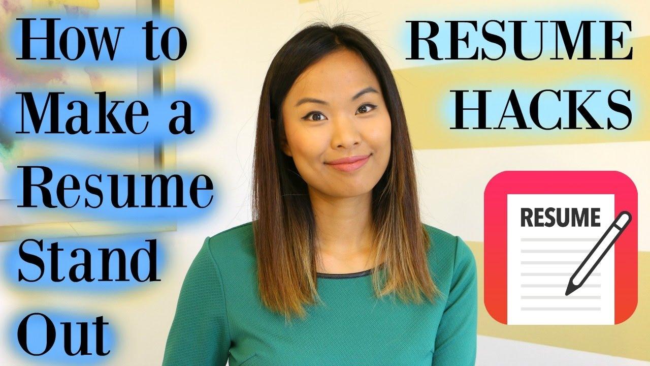 [Linda Raynier] Các Tips Viết CV | Làm Thế Nào Để Có Một CV Thật Nổi Bật - Resume Hacks | How to Make a Resume Stand Out