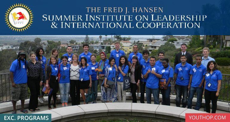 [Mỹ] Học Bổng Học Viện Mùa Hè Hansen, School Of Leadership 2018 (Tài Trợ Toàn Phần)
