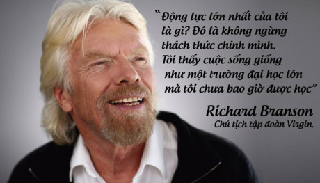Ty phu Richard Branson va nhung bai hoc truyen cam hung de doi giup ban song hanh phuc - Anh 1