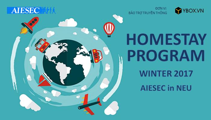 [HN] Chương trình HOMESTAY PROGRAM WINTER 2017 || AIESEC in NEU
