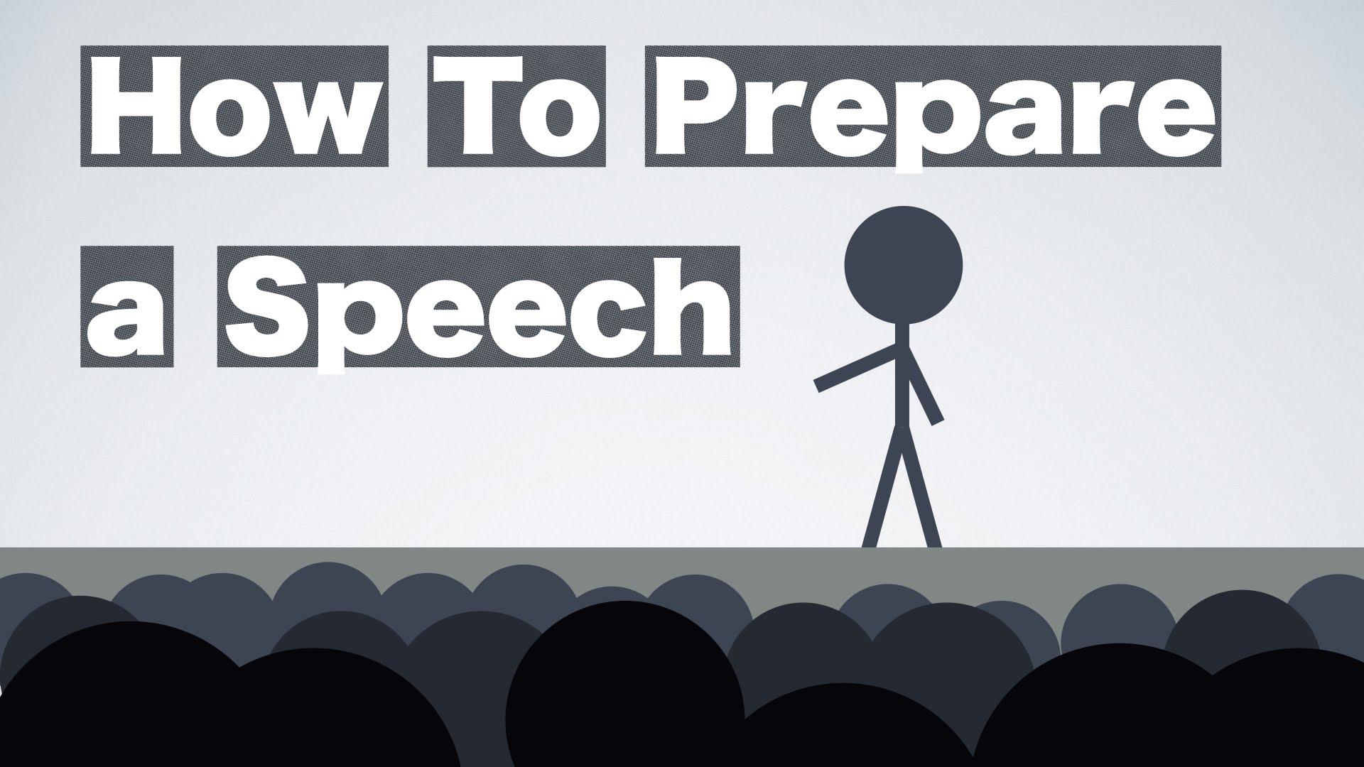 [The Rest of Us] Cách Chuẩn Bị Cho Một Bài Diễn Thuyết -- How to Prepare a Speech