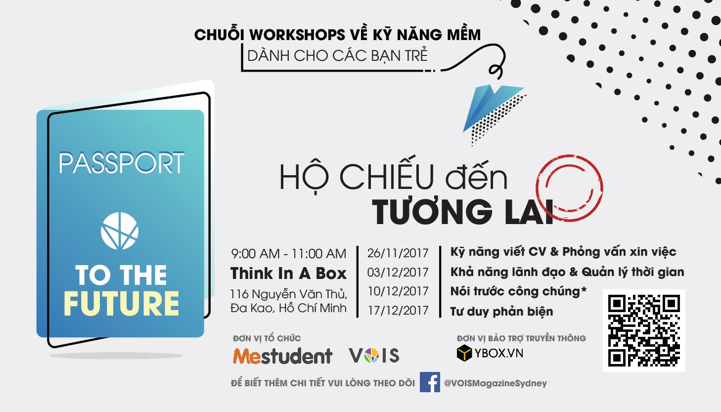 "[HCM] Chuỗi Workshop Kĩ Năng Mềm "" Passport To The Future """
