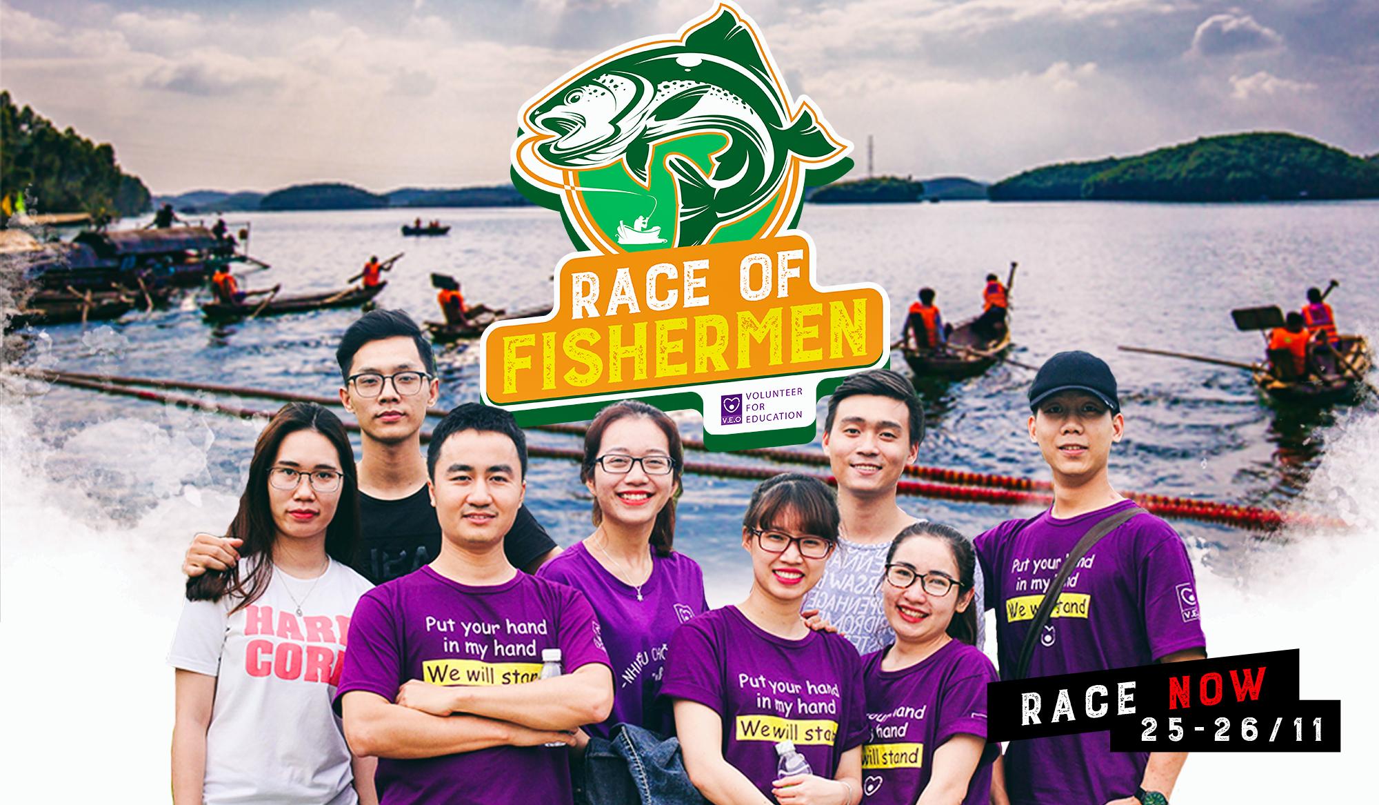 [HN] Cuộc Đua Race Of Fishermen - Đại Chiến Ngư Dân Mùa Đầu Tiên (V.E.O)