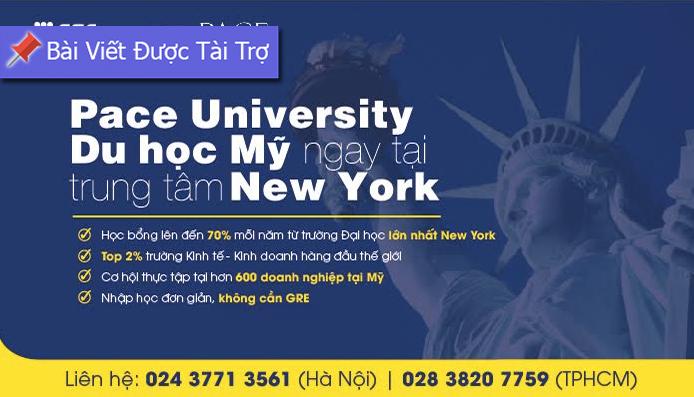 Cơ Hội Vàng Nhận Học Bổng Lên Đến 70% Từ Trường Đại Học Trung Tâm New York
