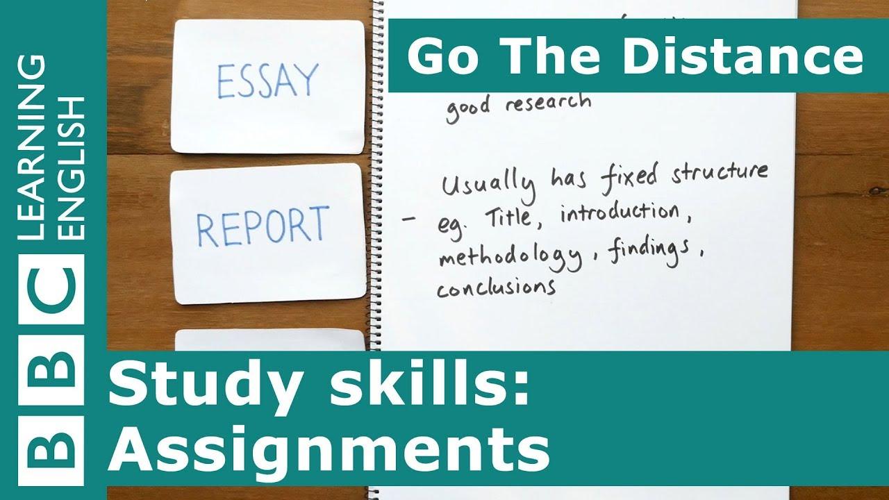[BBC Learning English] Kỹ Năng Học Tập | Chuẩn bị cho bài tập lớn -- Study Skills | Preparing for assignments