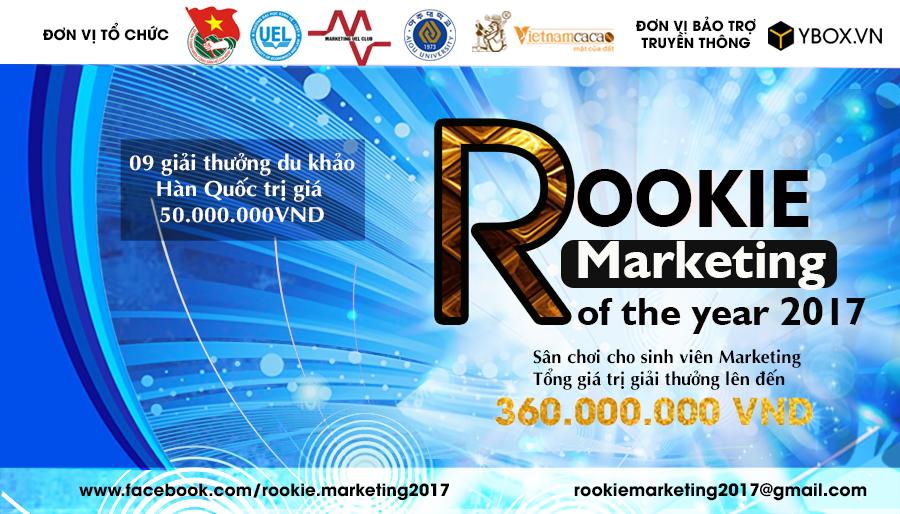 [HCM] Cuộc Thi Rookie Marketing 2017 - Cơ Hội Vàng Nhận Học Bổng Du Khảo Ngắn Hạn Tại Trường ĐH Ajou, Hàn Quốc Và Tổng Giải Thưởng Lên Tới 360.000.000VND