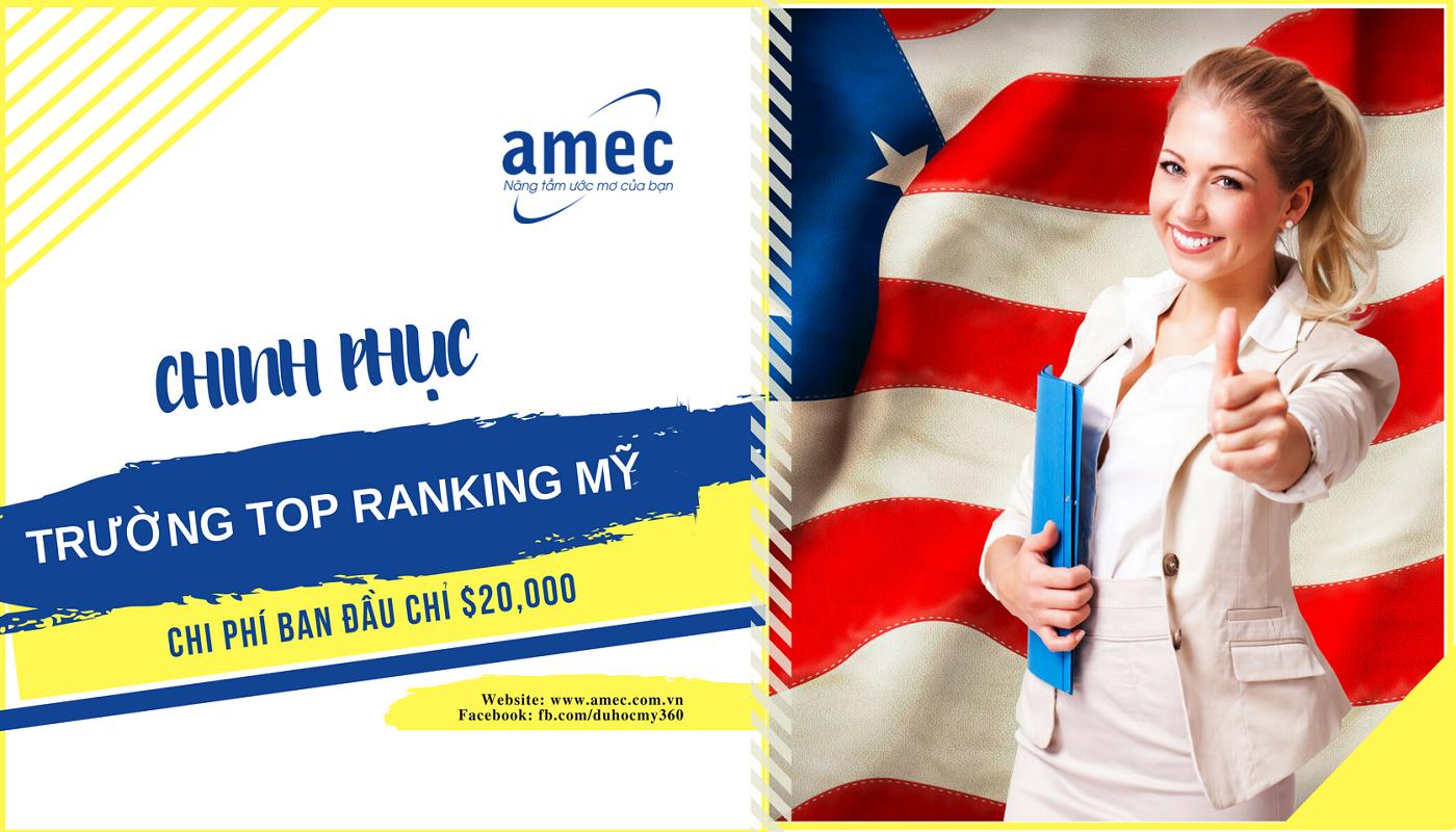 [HN] Chinh Phục Các Trường Top Ranking Tại Mỹ Với Chi Phí Chỉ $20,000/Măm