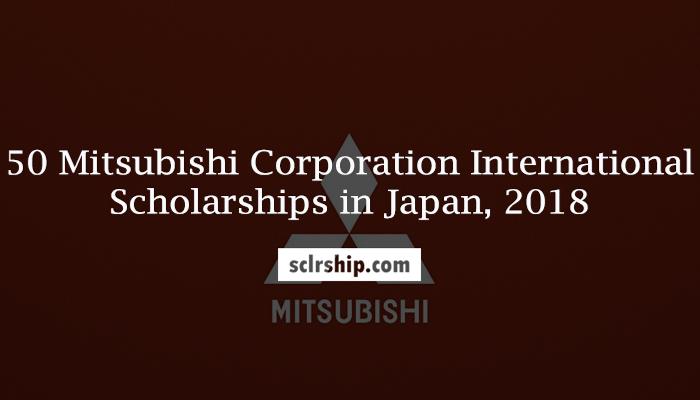 [Nhật Bản] Học Bổng Mitsubishi Của Sở Giáo Dục Và Đào Tạo Nhật Bản 2018