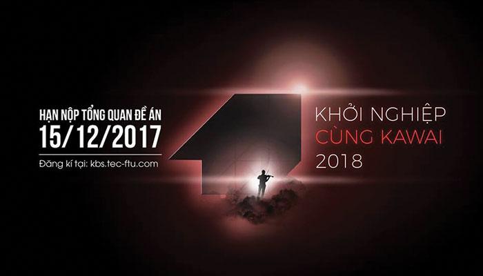 [HN] Khởi Động Cuộc Thi Khởi Nghiệp Cùng Kawai 2018 - Vòng 1 Tổng Quan Đề Án