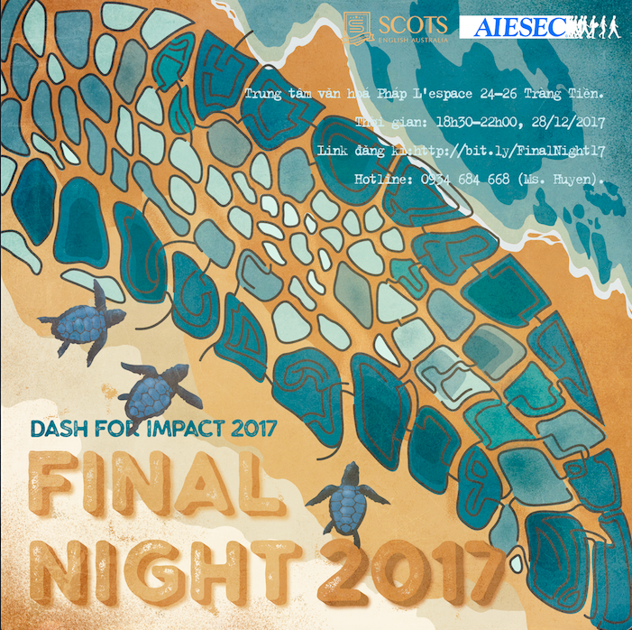 Dash For Impact 2017| AIESEC in FTU Hanoi