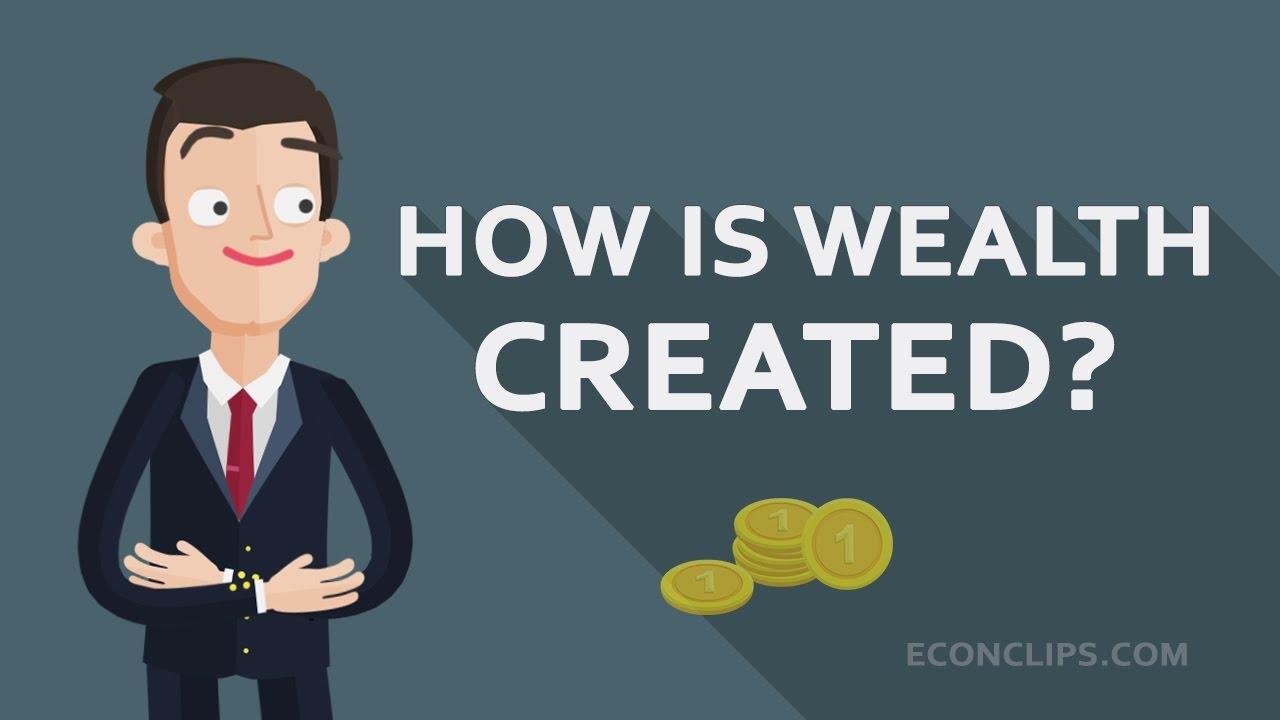 [EconClips] Sự giàu có được tạo ra như thế nào? #tiết kiệm và đầu tư -- How is wealth created #savings and investments