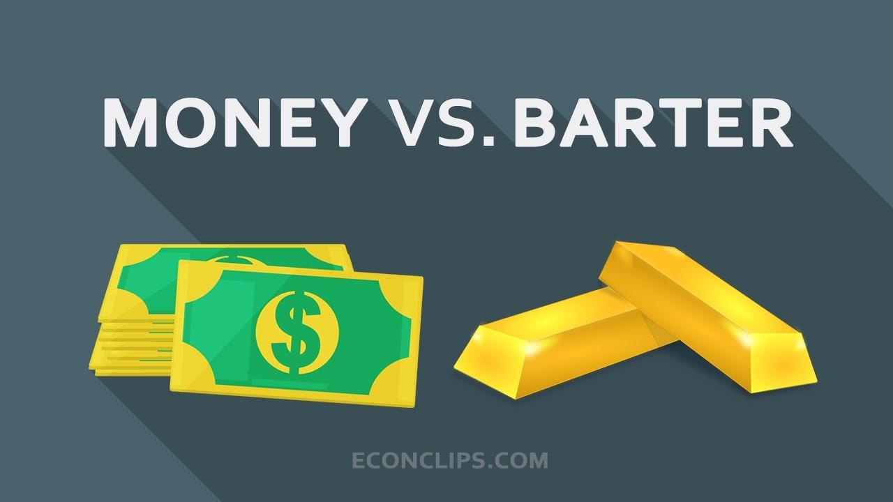 [EconClips] Tiền tệ và trao đổi hàng hóa #những tính chất của tiền -- Money vs. barter #characteristics of money