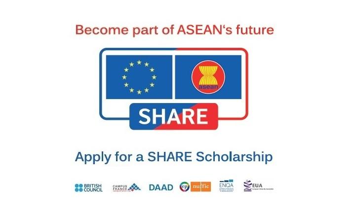 [Đông Nam Á, Châu Âu] Học Bổng Trao Đổi Toàn Phần SHARE Dành Cho Ứng Viên Đến Từ Các Nước Đông Nam Á Năm 2017