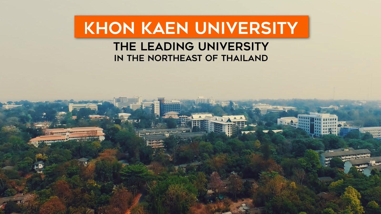 [Thailand] Học Bổng Toàn Phần Sau Đại Học Tại Trường Đại Học Khon Kaen Dành Cho Sinh Viên ASEAN Và GMS 2017