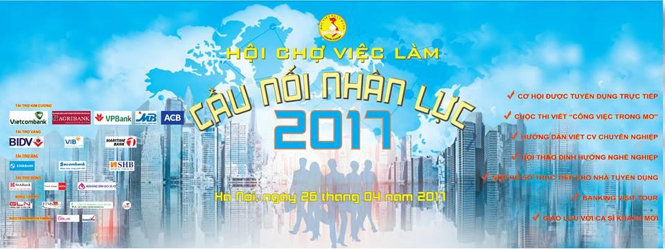 [HN] Hội Chợ Việc Làm - Cầu Nối Nhân Lực 2017