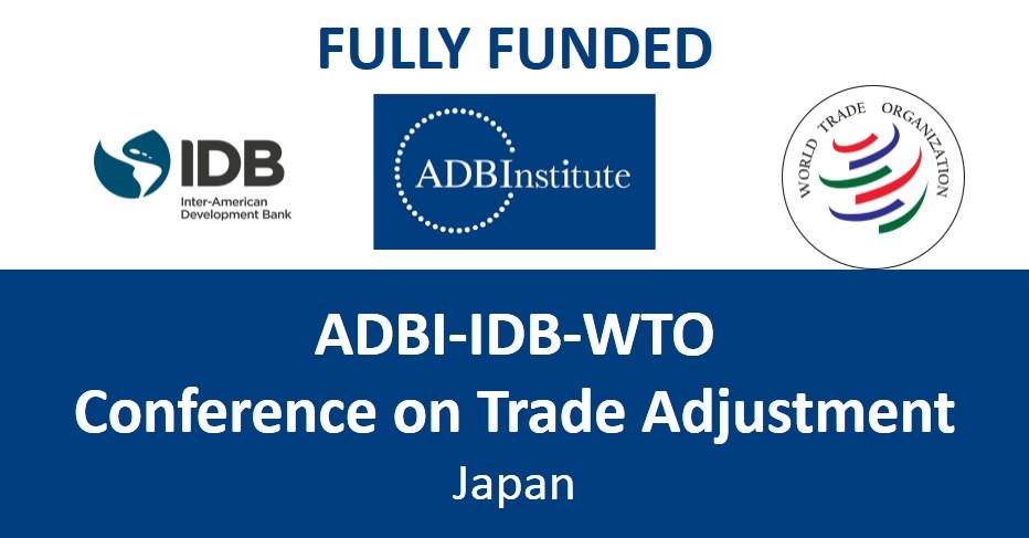 [Nhật Bản] Cơ Hội Tới Nhật Bản Tham Dự Hội Nghị ADBI-IDB-WTO 2017