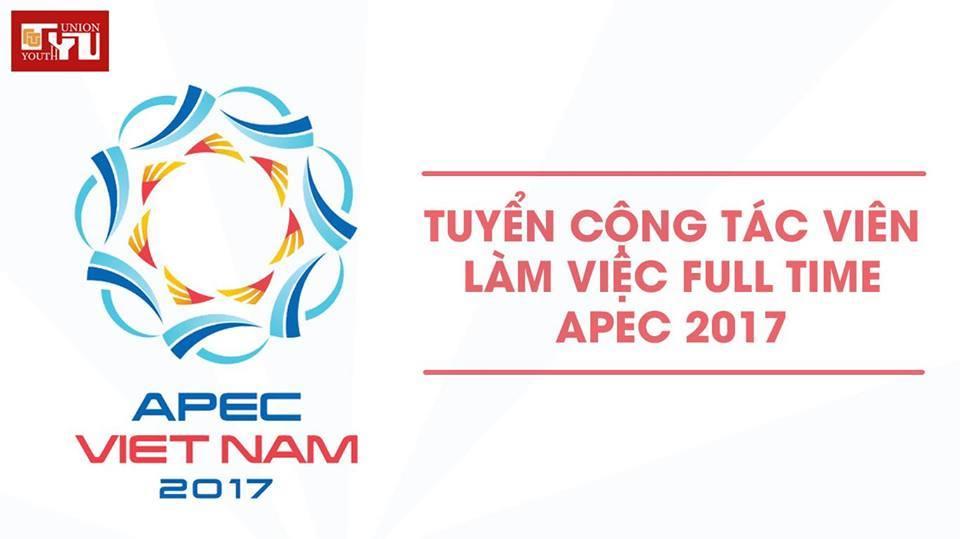 [HN] APEC 2017 Tuyển Cộng Tác Viên Làm Việc Full-time