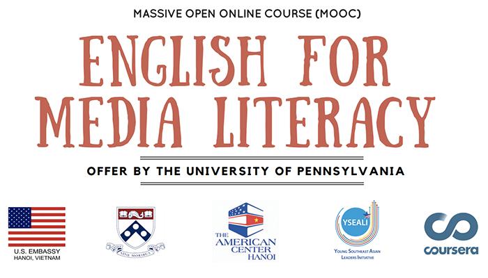 [HN] Khoá Học MOOC English For Media Literacy Của Đại Sứ Quán Mỹ (Hoàn Toàn Miễn Phí)