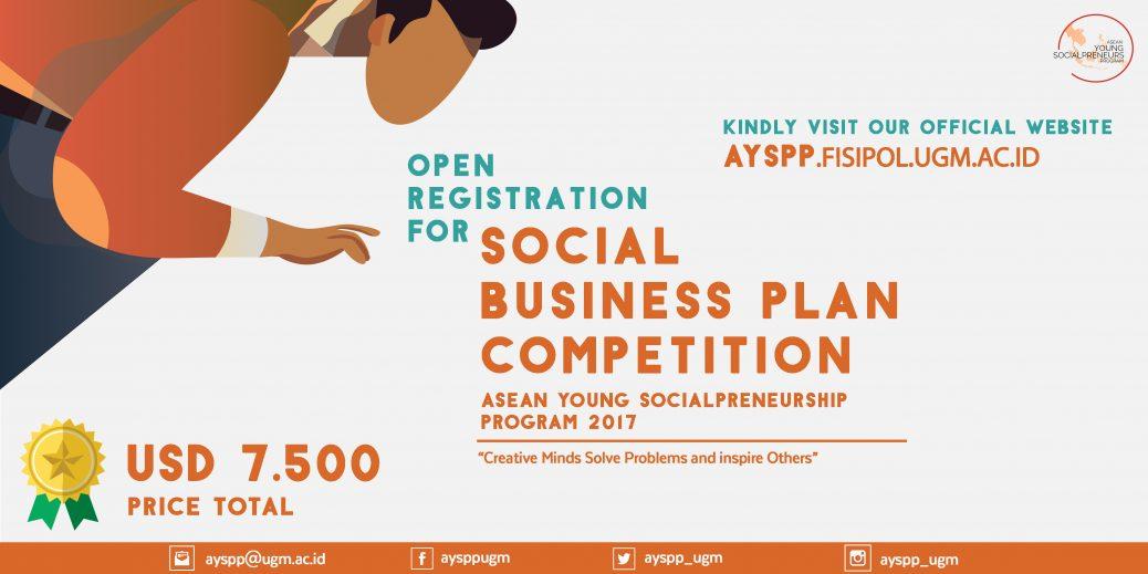 Cuộc Thi Khởi Nghiệp Xã Hội - ASEAN Youth Socialpreneurship Program 2017