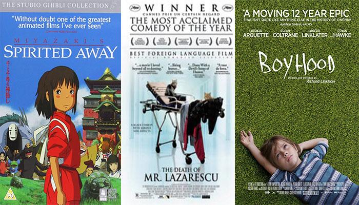 25 Bộ Phim Điện Ảnh Xuất Sắc Nhất Thế Kỷ 21 Tính Đến Thời Điểm Hiện Tại