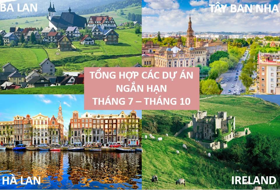 Tổng Hợp Các Dứ Án Tình Nguyện Ngắn Hạn Tại Nước Ngoài Của Chương Trình Trao Đổi Thanh Niên Và Văn Hóa Quốc Tế ICYE Vietnam 2017