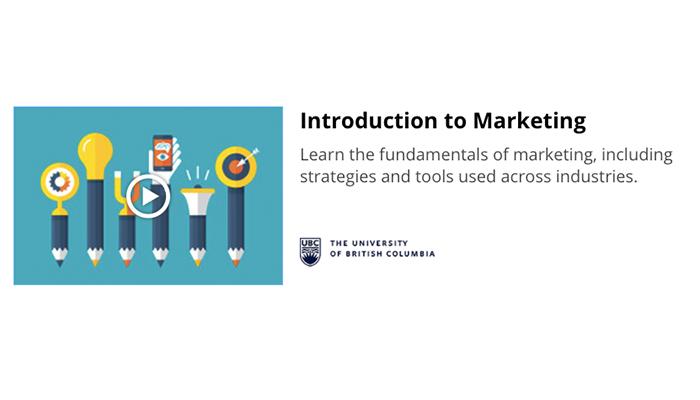 [Online] Khoá Học Miễn Phí Về Marketing Cơ Bản Từ Đại Học British Columbia 2017
