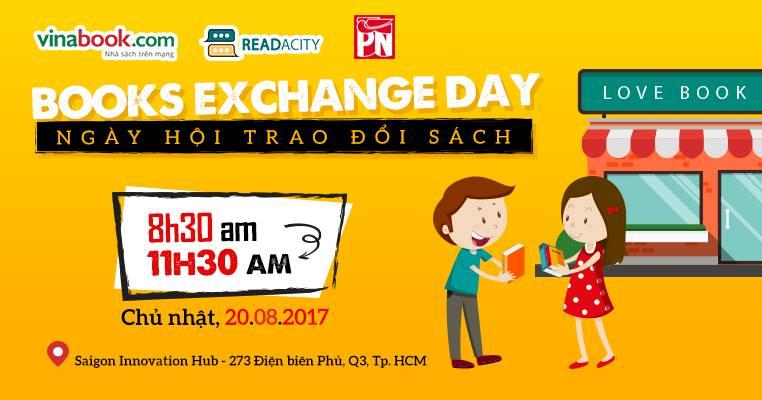 [HCM] Book Exchange Day - Ngày Hội Trao Đổi Sách Readaday 2017