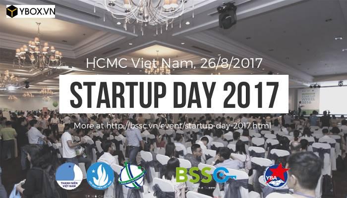 [HCM - BTTT] Sự Kiện Startup Day 2017