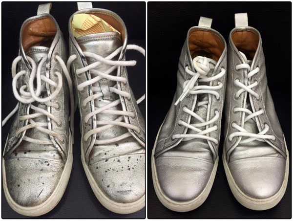 Bỏ lương ngàn USD, chàng trai 8x khởi nghiệp đánh giày, sửa túi - Ảnh 2.