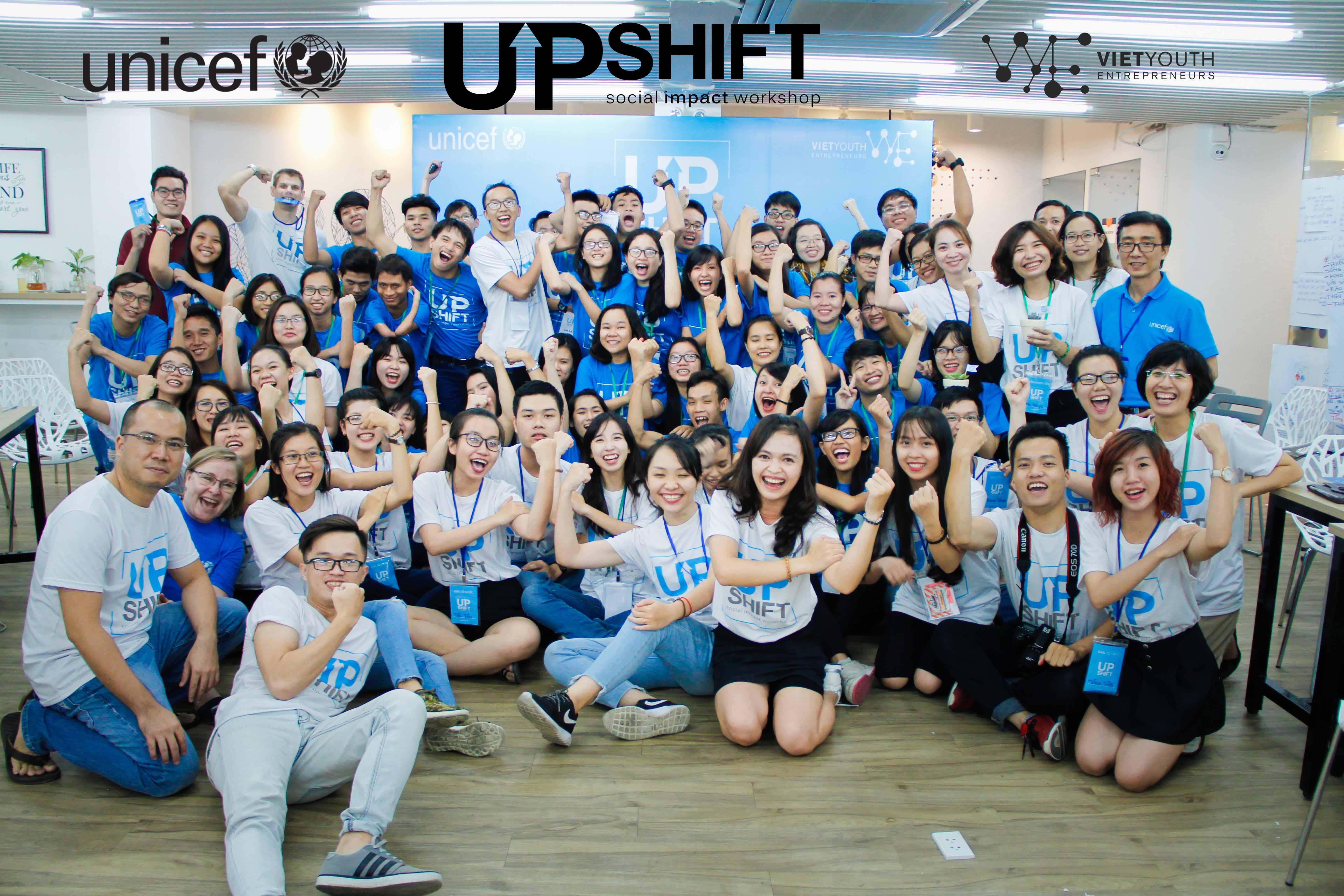 [HCM] Dự Án Tìm Kiếm Và Ươm Mầm Dư Án Xã Hội UPSHIFT 2017 Từ UNICEF Tuyển Event Và Communication Team