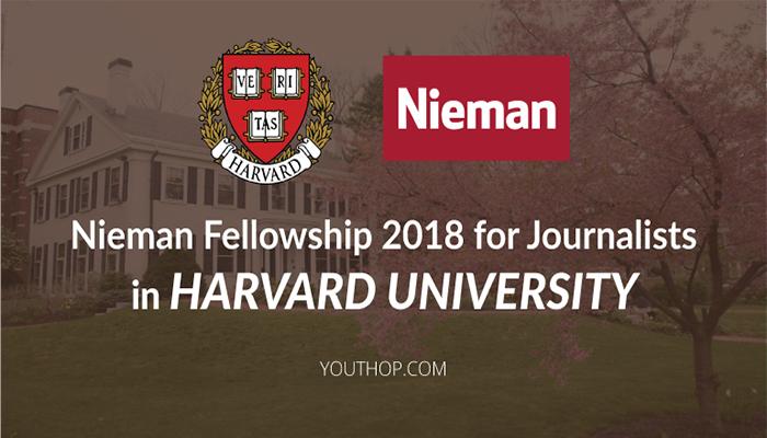 [Mỹ] Học Bổng Quốc Tế Nieman Foundation Của Trường Đại Học Harvard 2018