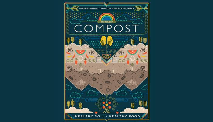 [Toàn Cầu] Cơ Hội Giành Giải Thưởng Lên Đến 11,000,000 VNĐ Với Cuộc Thi Thiết Kế Poster International Compost Awareness Week 2018