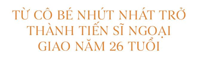 Lê Nguyễn Vân Anh: Từ cô bé nhút nhát trở thành tiến sĩ ngoại giao năm 26 tuổi - Ảnh 2.