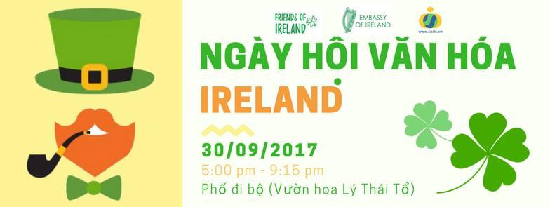[HN] Ngày Hội Văn Hóa Ireland (Irish Culture Day)