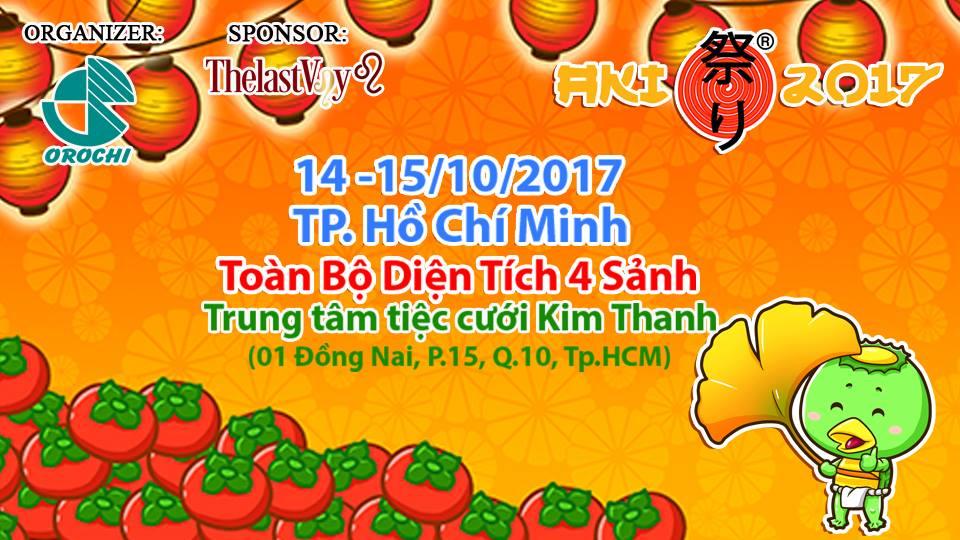 [HN&HCM] Lễ Hội Mùa Thu Nhật Bản Aki Matsuri 2017