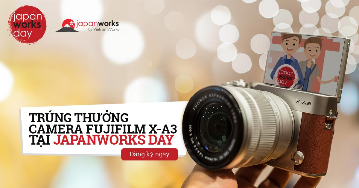 [HN - BTTT] JapanWorks Day - Ngày Hội Tuyển Dụng Nhân Tài Tiếng Nhật Cao Cấp