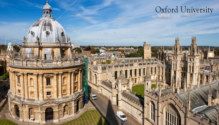 [UK] Học Bổng Toàn Phần Học Phí Và Sinh Hoạt Phí Bậc Sau Đại Học Weidenfeld and Hoffmann Của Đại Học Oxford 2018