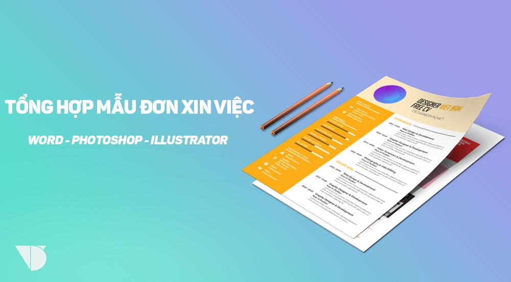 [Download] Tổng Hợp 10 Bộ CV Chất Lượng Cao Trên MS Word, Photoshop, Corel Và Illustrator