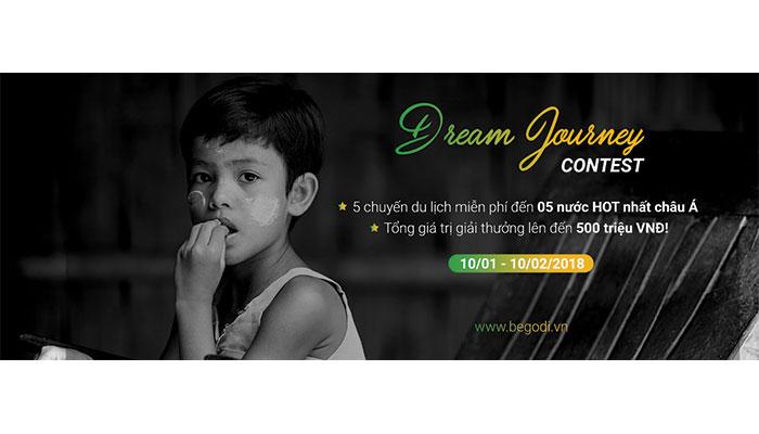 [Toàn Quốc] Cơ Hội Nhận 5 Chuyến Du Lịch Châu Á Miễn Phí Từ Cuộc Thi Dream Journey Contest 2018