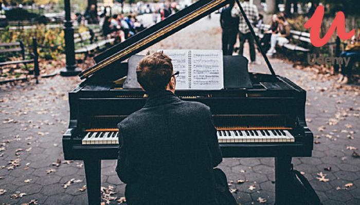[Online] Khoá Học Miễn Phí Về Piano Dành Cho Người Mới Bắt Đầu Từ Udemy 2018