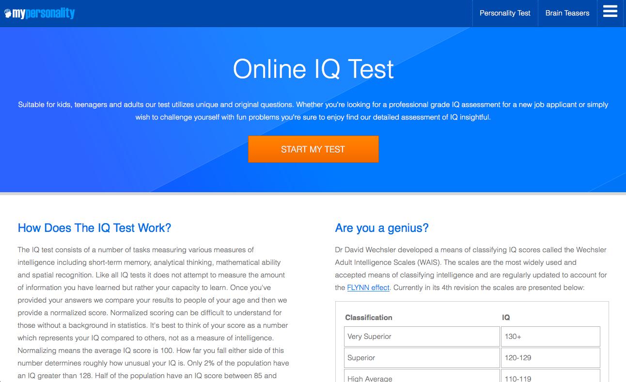Các Bài Test Free Giúp Bạn Khám Phá Bản Thân – Nhut Ly's Weblog