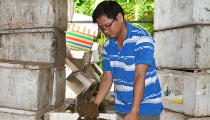 Nguyễn Phúc Hậu - Chàng Trai Bến Tre Khởi Nghiệp Với Mô Hình Nuôi Tôm Bằng Bã Mía