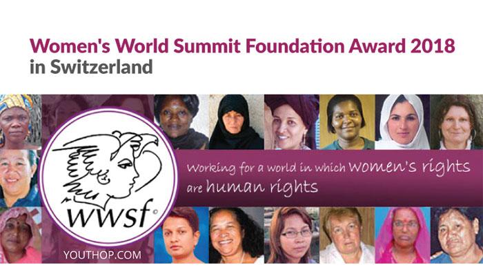 [Toàn Cầu] Cơ Hội Nhận $1000 Từ Giải Thưởng Women's World Summit Foundation Award 2018