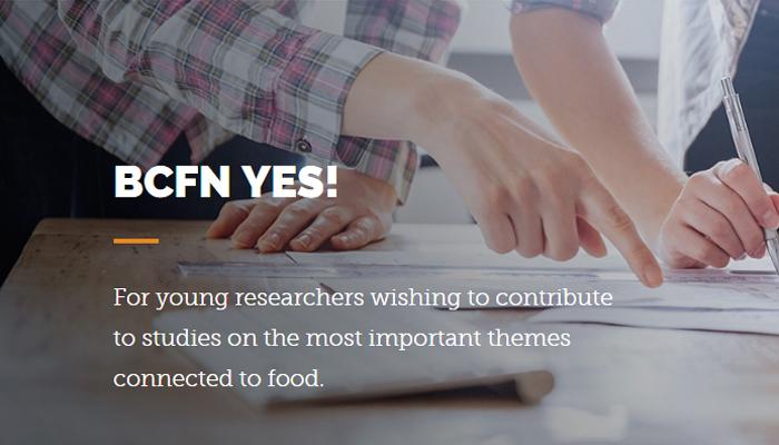 [Italia] Tham Gia Cuộc Thi BCFN YES 2018 Dành Cho Các Nhà Khoa Học Trẻ  Giành Giải Thưởng 20.000 €
